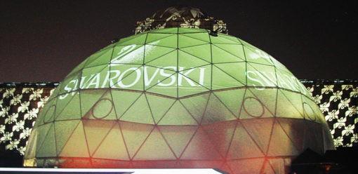 Big Samy Noleggio Dome Swarovski Esterno