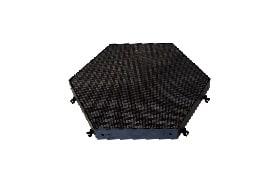 big samy hexagon led screen
